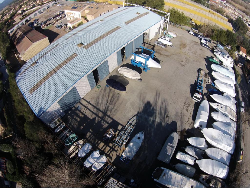 chantier naval SMN port grimaud vue aérienne 7