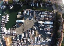 chantier naval SMN port grimaud vue aérienne 3