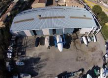 chantier naval SMN port grimaud vue aérienne 6
